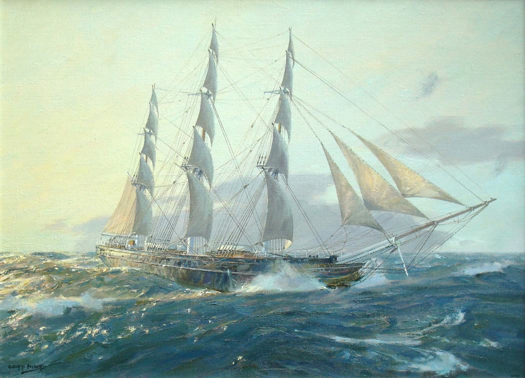 the history of marine art mall galleries