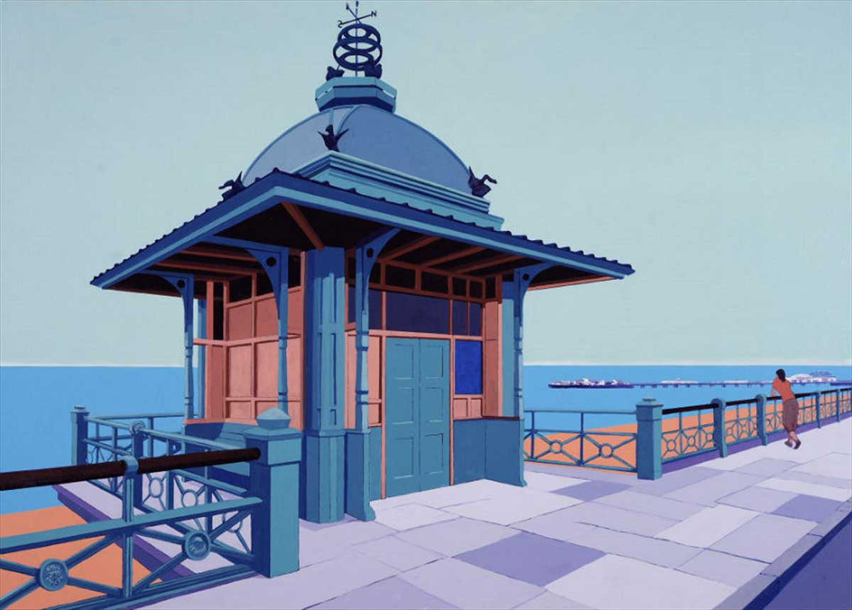 Brighton pier paul tracey for 17 carlton house terrace london