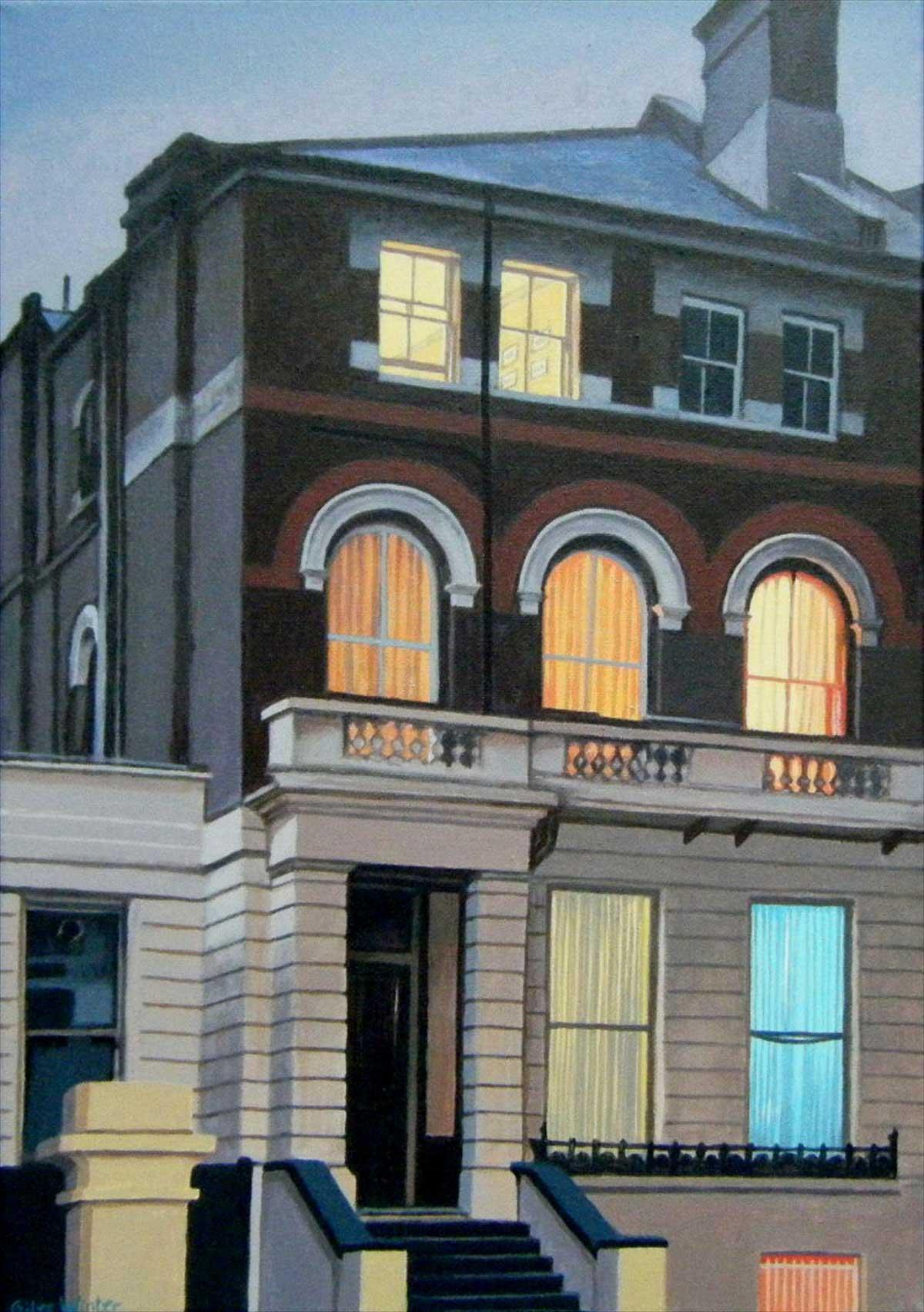Emerald curtain giles winter for 17 carlton house terrace london