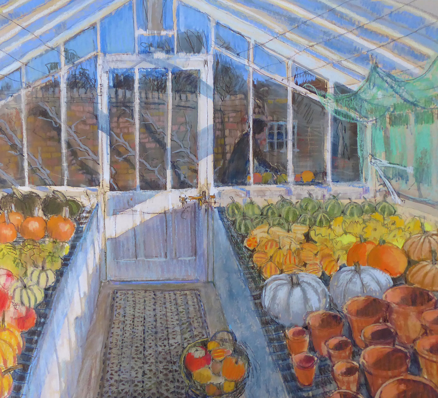 Autumn west dean glasshouse felicity house for 17 carlton house terrace london