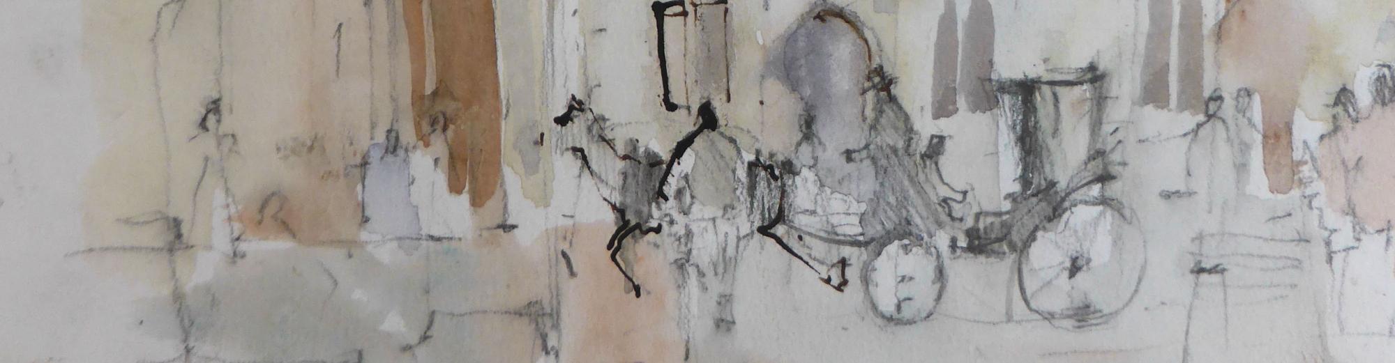 Paul Banning RI RSMA: Sketchbooks