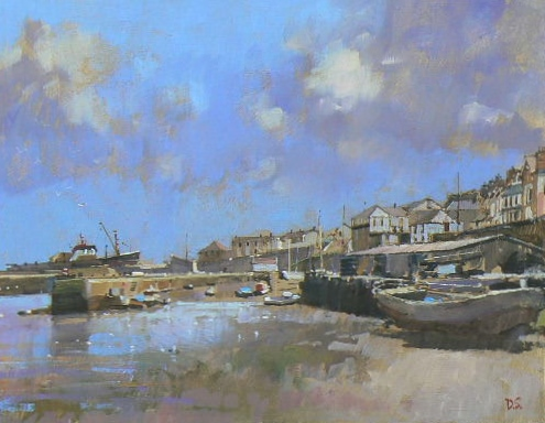 Drawing Session: Newlyn Harbour – online
