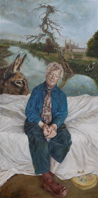 A Portrait Of Roger Scruton Lantian Mall Galleries
