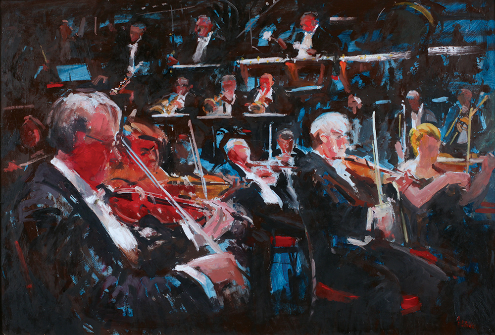 Part of the Orchestra | | Mall Galleries
