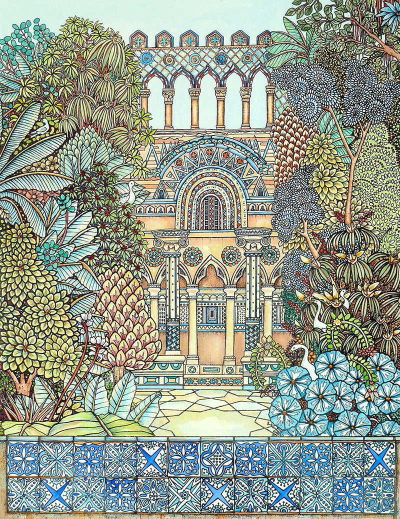 Secret garden for 17 carlton house terrace london