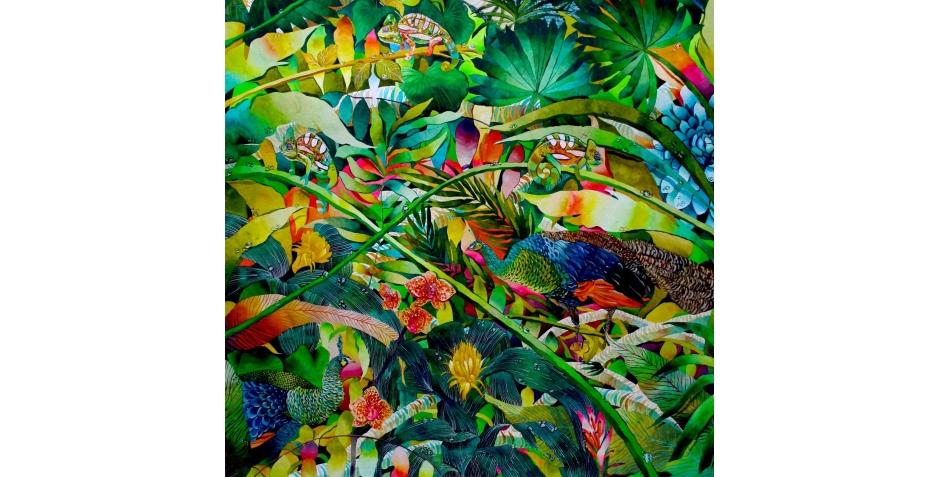 Kate Morgan Artist Lost in India