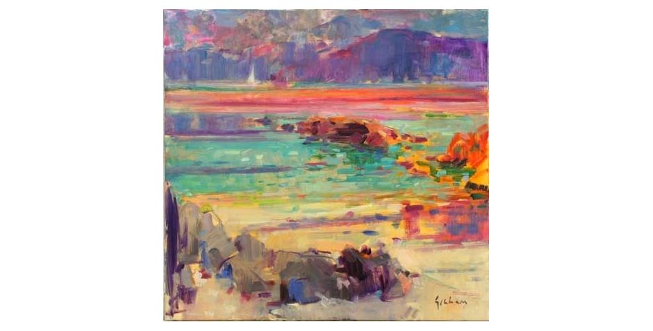 Peter Graham Artist Maturing Sun Iona