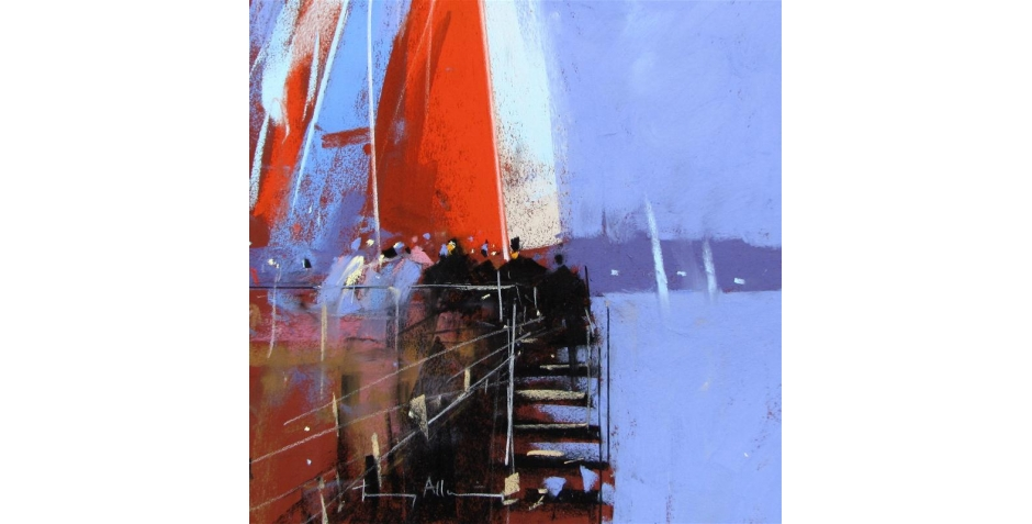 Tony Allain PS, Yacht Club Terrace