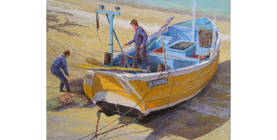 Allen-David-A Yorkshire Coble, Flamborough.jpg