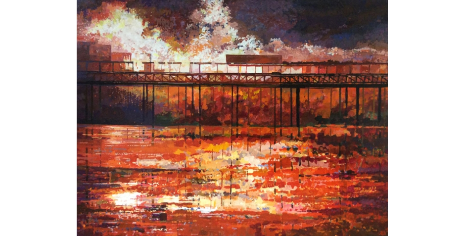Baines-Richard-The Great Fire of Hastings Pier.jpg