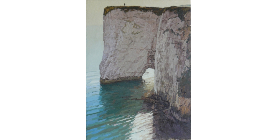 Richard Dack RSMA, Cliffs at Studland