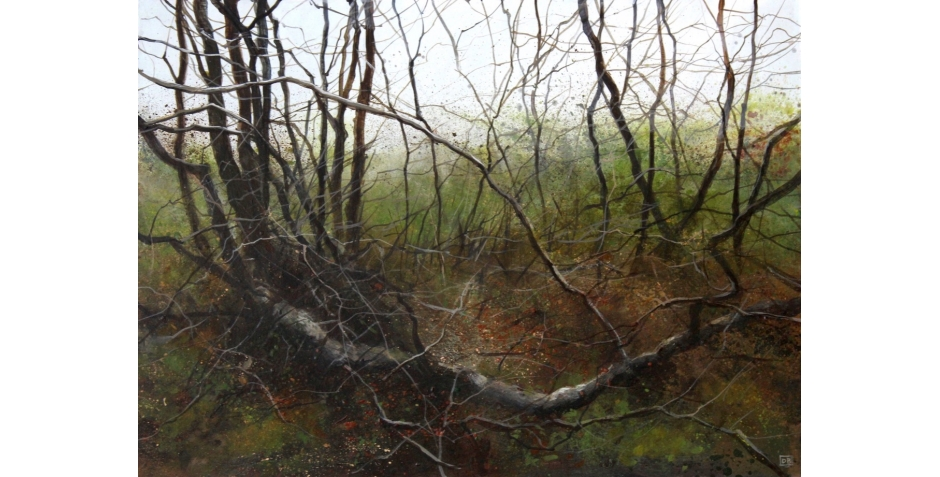 David Brammeld Royal Society of British Artists Pastel Society Deep in the Wood