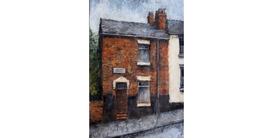 David Brammeld Royal Society of British Artists Pastel Society End Terrace Howson Street