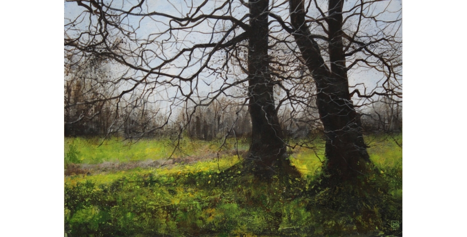 David Brammeld RBA PS_'Spring Green (Delamere Forest)'_Acrylic.jpeg