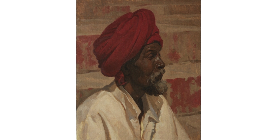 IMG_Worley-Neale- oil on canvas-RED TURBAN-16x14-inches.jpg