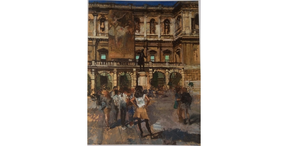 Kuhfeld_Peter-'The Degas Exhibition, Royal Academy of Art'.jpg