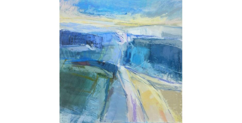 Last - Joanne - Summer Walk - pastel- 76 x 76cm.jpg