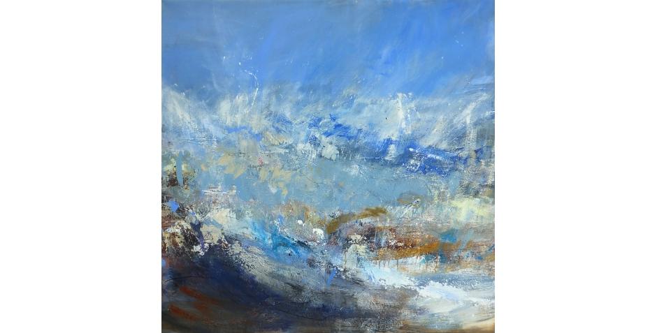 Last - Joanne -Sea dance - Acrylic -115 x 115cm.jpg