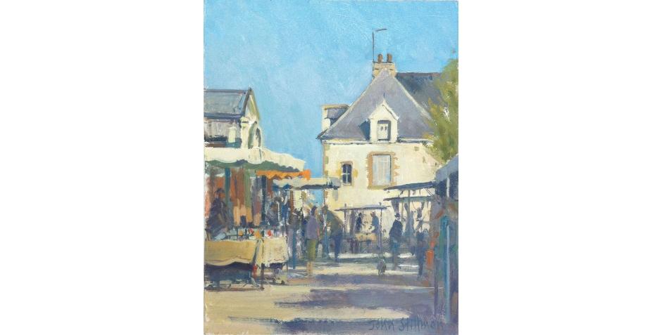 Market day, Le Croisic, France