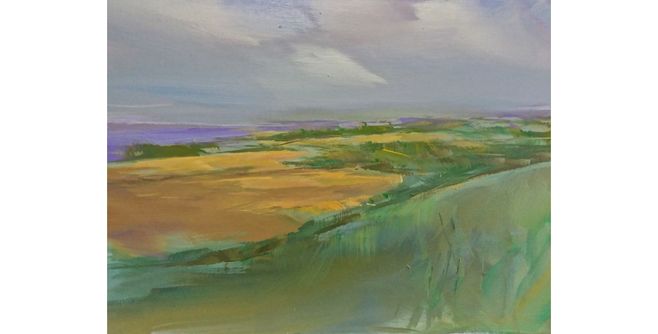 Philip James South Downs Way  30 x 50cms.jpg
