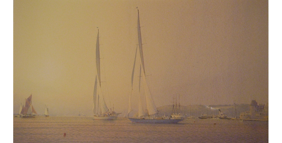 Swan-Martin-Velsheda and Endeavour at Cowes.JPG