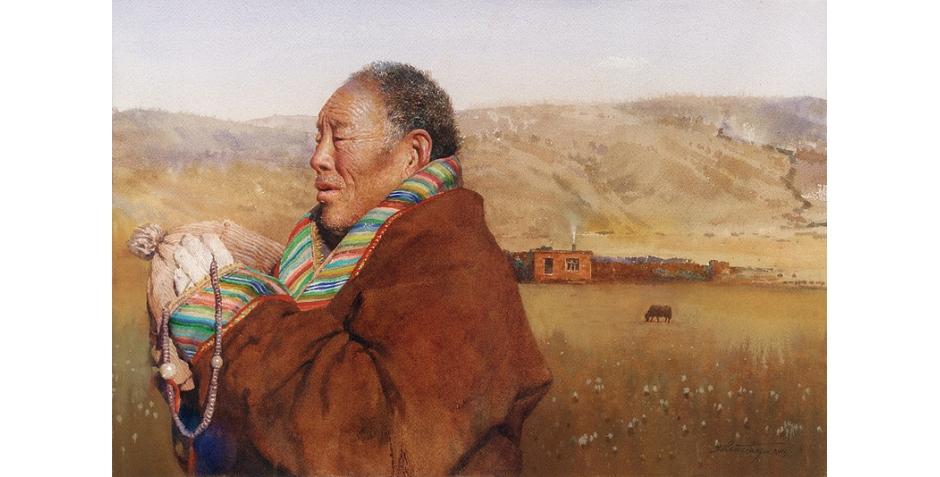 Tianya Zhou Praying