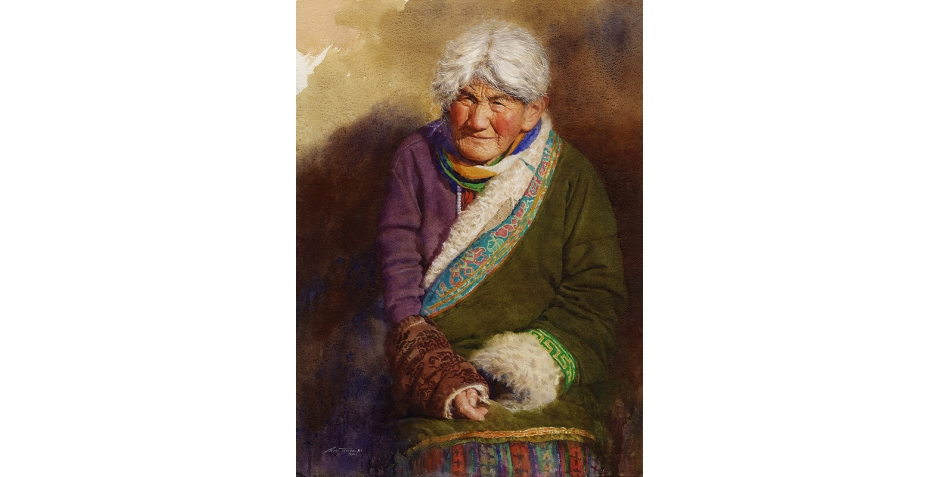 Tianya Zhou Tibetan Old Amah II