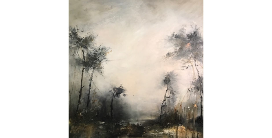 'Ghost Dance' oil painting by Rachel Arif