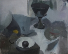 Clare Haward Still Life with Italian Vase