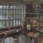 Brown-Peter-The-Scholar-in-the-Library-Rainy-Winters-Day.jpg