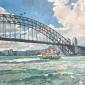 Cook-Richard-Sydney-Harbour-Bridge-and-Manley-Ferry.jpg