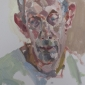 'Clive looking away ', oil on canvas, 20inches x 16inches, £1650 .JPG