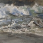 'Crashing waves', oil on canvas, 36inches x 48inches, £6500.JPG