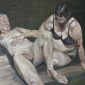 'Tell me what you're thinking', oil on canvas, 48inches x 60inches, £9000.JPG