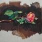 The last bloom, Oil on board, 40x40cm.jpeg
