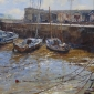 West Bay ,Dorset, Oil .16 x 12 in  ches B.A. Peckham      ,£ 650..jpeg