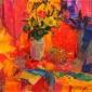 Peter Graham Artist Pollockshield Bouquet