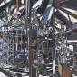 2. Riverside Scaffolding III 140 x 120cm Mixed Media.jpg