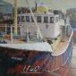 Richard Dack RSMA, The Heritage Trawler Mincarlo