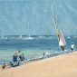On the Beach, Cowes
