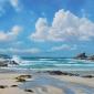 Duncan Palmar Crashing Waves, Trevone