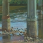 Parfitt-David-Piers, Shadows and Stones-65x85cms-oil on canvas.jpg