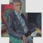 Daphne Todd, Man with a Pink Wall, Martin Gayford