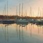 Winter sunrise, Lymington Quay.jpg