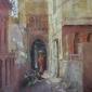 Arnold-June-Alleyway with Cows in Rajasthan.jpg