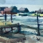 Francis Bowyer NEAC Moorings on the Blyth River