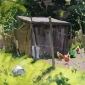 Summers-Haidee-Jo-Allotment Hens, Early Summer.jpg