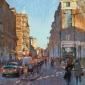 January on New Oxford Street