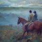 Horses in Morning Mist by Frances Bell Buy Art