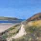 Lucinda Storm, Easter Walk, Camel Estuary, Cornwall